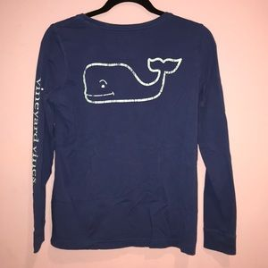 Vineyard Vines Long-Sleeve Vintage Whale T-Shirt